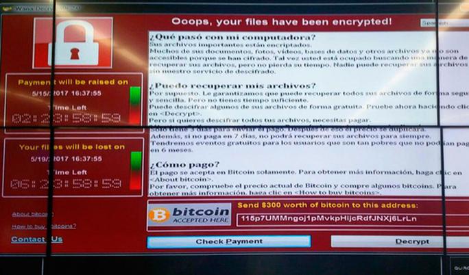 Ataque mundial con ransomware WannaCry